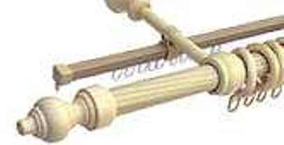 Dřevěné garnýže pr. 28 mm