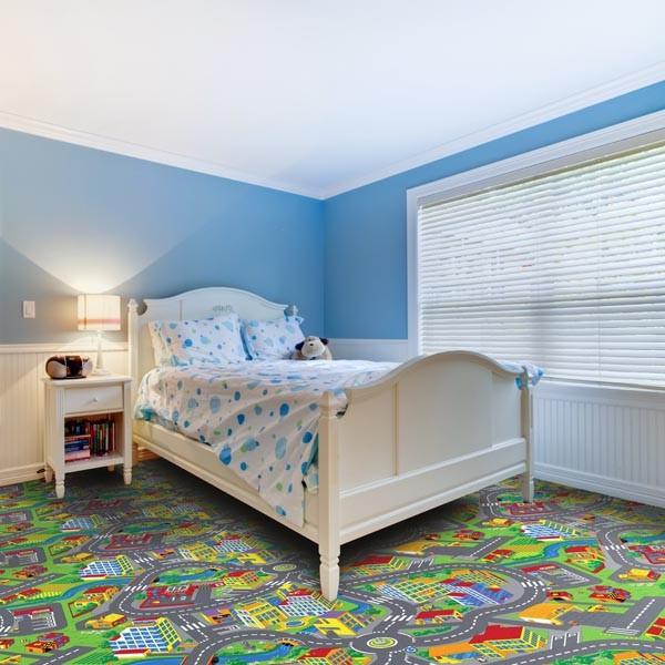 Dětský koberec Smart City 97