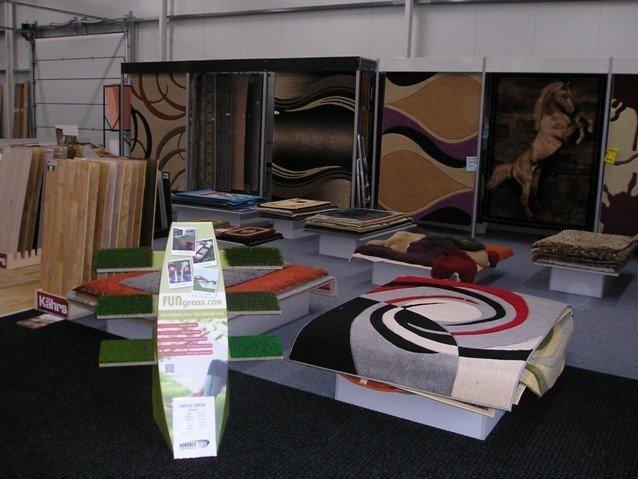 Prodejna Domažlice - koberce, podlahy, linoleum, PVC