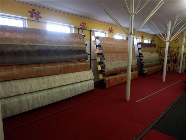 Prodejna Tachov - koberce, podlahy, linoleum, PVC