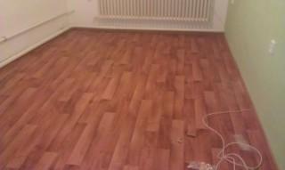 Pokládka podlahy v rodinném domě v Kolíně