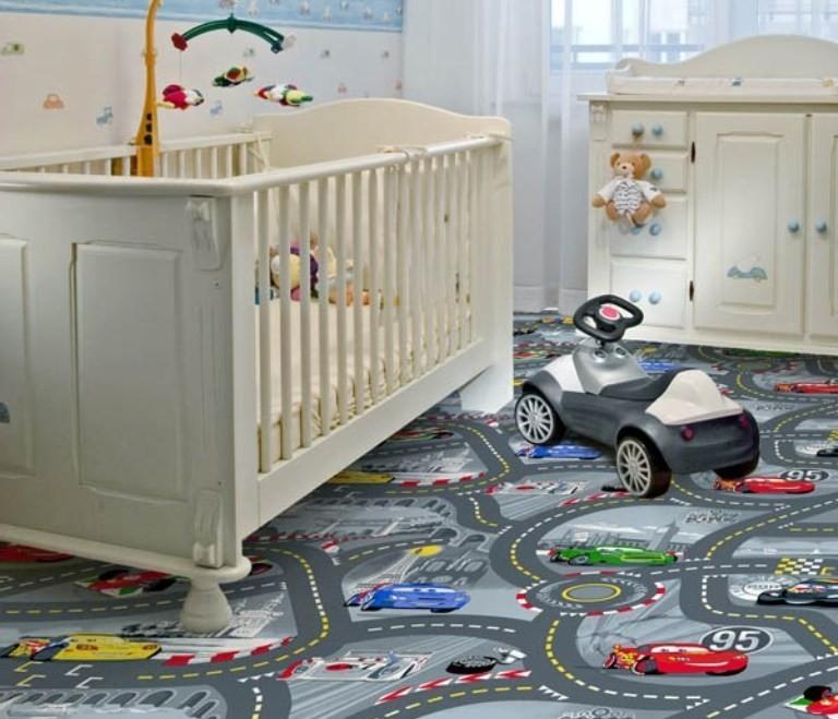 Dětský koberec World of Cars