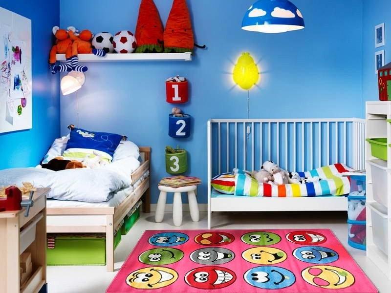 Dětský koberec Baby 1470 smajlíci
