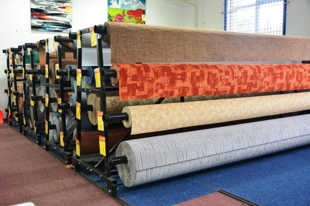 Prodejna Sokolov - koberce, podlahy, linoleum, PVC