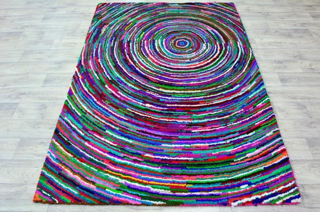 Bavlněný kusový koberec Indie 24