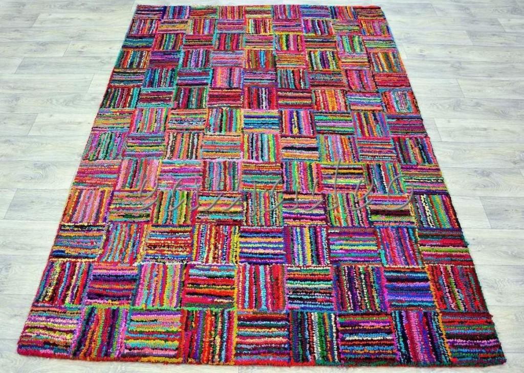 Bavlněný kusový koberec Indie 1