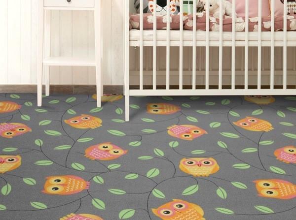 Dětský koberec Happy Owl - sovičky