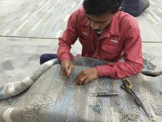 výroba indických koberců